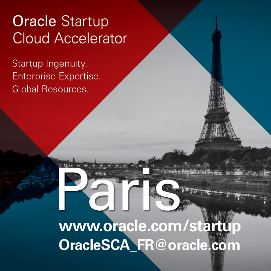 Oracle Startup Cloud Accelerator 2